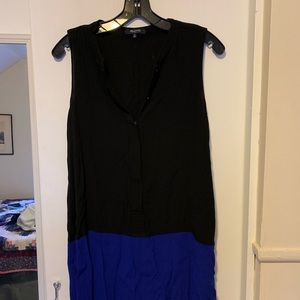 Madewell Dresses - Madewell colorblock button up tunic